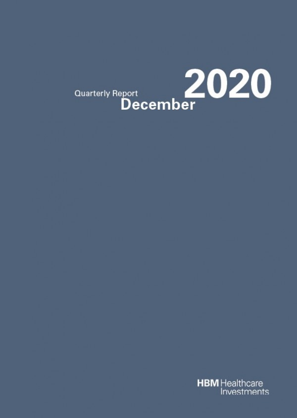 Quarterly Report December 2020